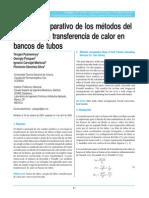 Estudio comparativo de los métodos del cálculo de la transferencia de calor en bancos de tubos