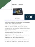 DA-818 Vehicle 3G GPS Tracker