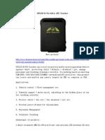 GPS102-B Portable GPS Tracker
