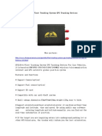 GPS106-A Fleet Tracking System GPS Tracking Devices