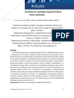 2012 SMBB Producción de pectinasas por A flavipes en cultivo alimentado