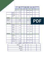 DM Payment Schedule