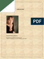 curriculum à jour Professeure Françoise Marois