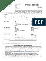 UTAustin_PreMedicine Timeline