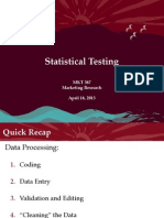 MKT 367 - Statistical Testing - Student Notes