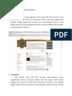 Evaluasi Website BPN Pusat
