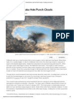 Fallstreak Holes, Aka Hole Punch Clouds _ I Fucking Love Science