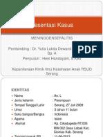 Presentation Kasus Maningoensefalitus
