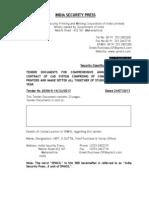 CAD System Tender