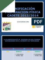 Planificacion p.f. Cadete