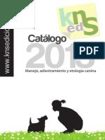 Catalogo Libros de perros 2013