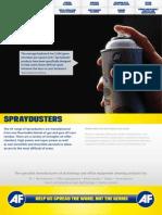 AF International Catalogue Product Sheets