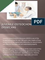 Juvenile Osteochondritis Dissecans