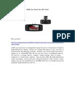 L6000 Car Black Box GPS Track