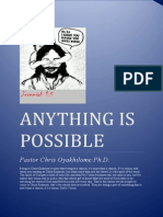 Anything is Possible - Pastor Chris