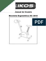 Manual da bicicleta ergométrica