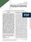 TTM - Change Applied to Dietary Fat Intake