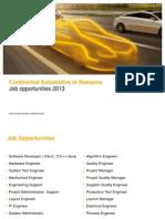 2013 10 Job Opportunities