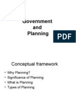 Government and Planning