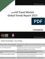 World Travel Market Global Trends Report 2013