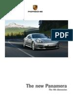Porsche Catalogue - Panamera
