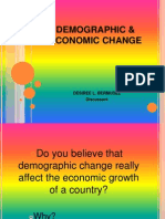 Demographic & Economic Change-report q
