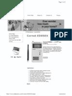 RFR Meter Reader - Cornet