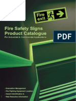 Jalite Fire Safety Signs Product Catalogue