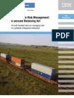 Supply Chain Risk Management (IBM) Management