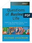 Questions of Business Life - exploring workplace issues from a Christian perspective (2002)