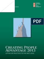 Creative People advantage 2013
