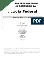 Apostila Agente Administrativo Pf 2013