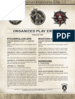 Organized Play Errata 2013