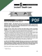 Daniel - An Ancient Death Law 30.10-5.11