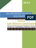 SOR Discussion Paper