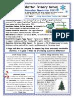November Newsletter 2013