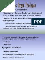 Pelvix Organ Prolaps