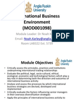 Overview of International Business