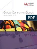 Mergers and Alliances Consumer Goods