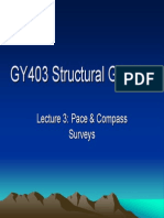 GY403 Lecture3 DescriptiveAnalysis PaceAndCompass
