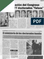 Todos los doctores bamba de la UNSA,con importantes cargos publicos REVISE ATENTAMENTE