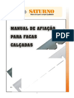 85.01 - MANUAL DE AFIAÇÃO