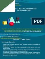 Presentación N°9 PSU De Matemática - Clase 7 Razón Y Proporción