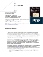 Rudolf Steiner-Apocalipsa Lui Ioan