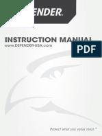 Defender 21031 Manual