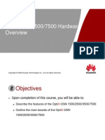 04-OptiX OSN 1500250035007500 Hardware Overview ISSUE1.0