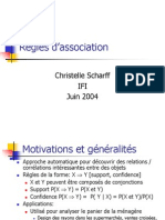 Regles d'Association Database