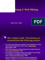 Text and Web Mining
