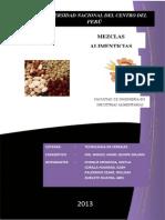Informe de Mezclas Alimenticias 1