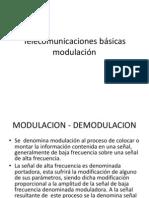 Telecomunicaciones básicas--moduladora....